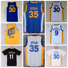 Wholesale Kevin Durant Shirt Uniform Andre Iguodala Klay Thompson Jersey Draymond Green Chinese Throwback Christmas Best Quality