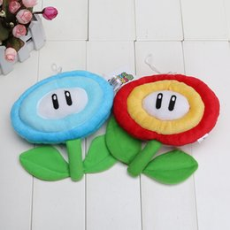Wholesale Super Mario Plush Doll Figure Ice Fire Flower cm Only