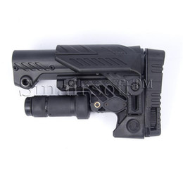Wholesale 2016New Ipsc Glock Gun Command Caa Ars Multi Position Sniper Stock Command Arms Accessoires Multi Position Sniper Stock pour Ar15 m4 a Type