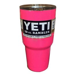 Wholesale Mugs Large Capacity Stainless Steel Tumbler Mugs Tumbler Rambler Cups several colors to choose hot new