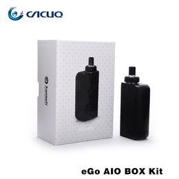 Authentic Joyetech Ego Aio Box Kit e cigarette with 2100mah Vape Mod 2ml Vaporizer All-In-One Kit Electronic Cigarette fit BF SS316-0.6ohm