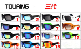 Wholesale KEN BLOCK HELM Cycling Sports Outdoor Sunglasses for Men or Women Sunglasses The Touring Sunglasses Reflective Lenses big frame sunglasses