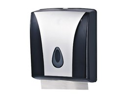 wall mounted napkin dispenser toilet paper public sanitary paper  z folded towel dispenser