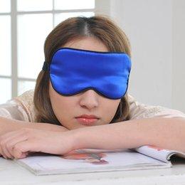 Wholesale Sleep Mask Brands - 2016 hot brand new Sleep Masks 100% silk Various color eight color 5pcs lot drop shipping