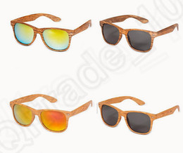 Wholesale 13 color LJJK359 hot selling Available Wood Sunglasses Designer Natural Bamboo Sunglass polarized uv protection Eyewear Fashion Sun Glasses