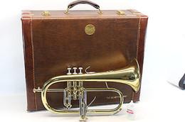 Wholesale Bach Stradivarius Flugelhorn Bb PRO Trumpet Professional Horn NICE L K
