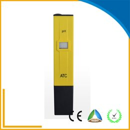 Wholesale Easy to Use Water Quality PH Meter Digital Pocket Pen Typr pH Meter PH Resolution Water Meter