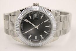 Wholesale luxury brand mm datejust white gold M116334 President Automatic watches men sapphire glass men dress wristwatches