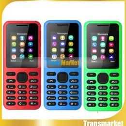 2016 New Fashion W130 1.8 inch mobile phone Dual SIM Bluetooth Unlock cell phones Free Shipping Multi-Color mini cheap phones