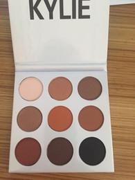 Wholesale ePacket Pieces New Makeup Eyes Kylie Ky Shadow Pressed Powder Eyeshadow Palette Mini Colors Eyeshadow