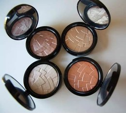 Wholesale Factory Direct Makeup Ana ILLUMINATOR Professional Face Pressed Powder Colors g oz DHL So Hollywood
