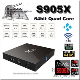 Wholesale MXQ Pro X96 K Amlogic s905X android GB GB MXQpro Quad Core kodi fully loaded smart hdmi media player Support Iptv