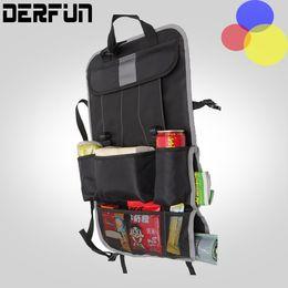 Wholesale Auto Back Car Seat Organizer Holder Multi Pocket Travel Storage Hanging Bag diaper bag baby kids car seat ipad hanging bag
