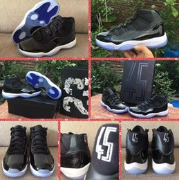 Wholesale Air Retro Space Jam Best quality With Box retro s white black Men size