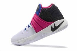 Wholesale Drop Shipping With Box Kyrie ll Irving Drew League USA Blackout Kyrache Tie Dye BHM Bright Crimson Men Basketball Sports Shoes