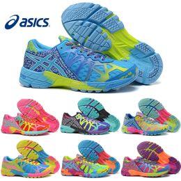 Asics Gel-Noosa TRI 9 IX Women Running Shoes High Quality Cheap Training 2016 Lightweight Walking Sport Shoes Free Shipping Size 5.5-8.5