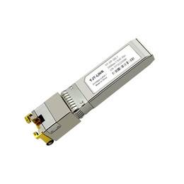 10Gbase-T copper SFP transceiver SFP-10G-T for HUAWEI compatible RJ-45 connector 30-Meter hot-pluggable bi-directional data link