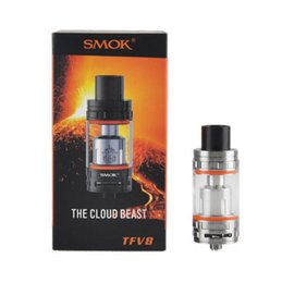 Wholesale New SMOK TFV8 Tank Full Kit ml Top Refill Sub ohm tank TFV8 Cloud Beast Tank With V8 T8 V8 Q4 Coil clone via TFV4