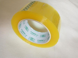 Bopp packing tapes strong force transparent single sided adhesive tapes packing materials for carton sealing 160Y X 44mm