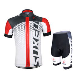 Red cycling jerseys kit 2016 Mens Cycling Short Sleeves Jersey Mountain Bike Bicycle Sets MTB Shirts Wear