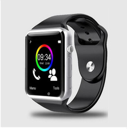 Wholesale Sounding Female - New Smartwatch Phone A1 for Android&IOS Bluetooth 1.54 inch MTK6260A Camera Anti-lost Sound Recorder Pedometer Sleep Monitor