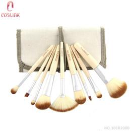 Wholesale Zoreya Professional Bamboo Makeup Brush Set Natural Brushes Sets Quality Make up Store Online