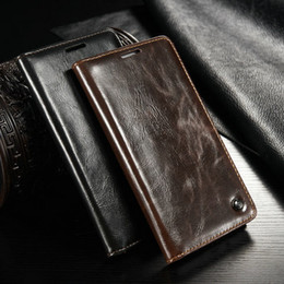 Luxury CaseMe Wallet Leather Case For Samsung Galaxy A5 A500 SM-A500F with Unique Magnet Design Best Selling Flip Cases