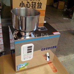 Wholesale FZ G Dispensing machine tea weighing machine grain medicine seed salt packing machine powder filler g