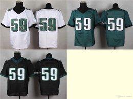 Wholesale Newest Men s ryans Green White Black Elite Jerseys Football Jerseys Good quality