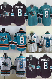 Hot Sale Mens San Jose Sharks 2015 Stadium Series 8 Joe Pavelski Team Color Home Authentic Best Quality Cheap Stitched Ice Hockey Jerseys