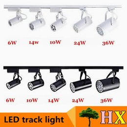 Wholesale Hot sale W W W W W Led Track Lights Angle Warm Natural Cool White Led Ceiling Spot Lights AC85 V CE ROHS UL