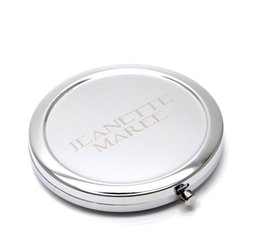 Wholesale Custom Engraved compact mirror Personalised compact mirror favors pocket magnifying mirror wedding gift for bridesmaid M070S
