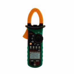 Wholesale MASTECH MS2108S True RMS Digital AC DC Current Clamp Meter Multimeter Capacitance Frequency Inrush Current Tester VS MS2108