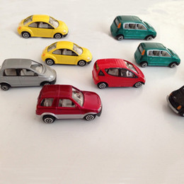 10pcs set 1:64 scale metal car Hot sale alloy scale model car resin diecast model classic car 1:64