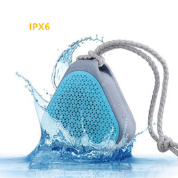 Promotion boîte de haut-parleur de radio W-KING S2 Mini Haut-parleurs Bluetooth Waterproof sans fil Haut-parleur sans fil de musique Sound Box avec radio FM / TF