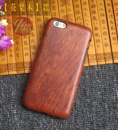 Wholesale Retro Wood Hard Case For Iphone s Plus Wooden Bamboo Cover For Apple Iphone Plus Plus Phone Shell Wood arc border