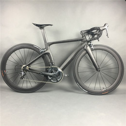 Complete Carbon Fiber Road Bike Racing Cycling,T800 Carbono Fibre Frameset,R36 Carbon Wheels,SHiMANO 3500 4700 5800 R8000 9100