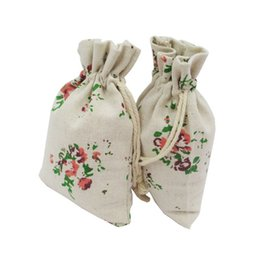 Size 10*15cm Cotton Linen Bags For Festive Parties Used And Jewelry Packaging 10 Types Wedding Favor Holders Gift Bags