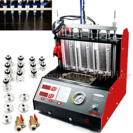 Wholesale CT200 gasonline cylinder Car Motorcycle Auto Ultrasonic Injector Cleaning Tester machine V CT200 Fuel Injector Cleaner Tester