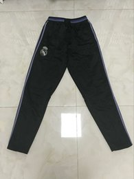 Wholesale 16 real madrid trousers soccer trousers soccer pants arsenal pants psg pants soccer tracksuit messi pants