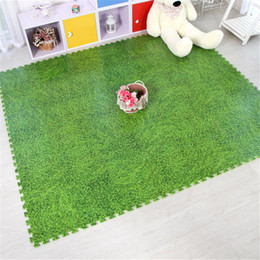Wholesale Puzzle Mats for Children Best Cheap Waterproof Green Grass Anti Fatigue Jigsaw Puzzles Foam Interlocking Floor Mats for Child Sport Mats