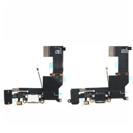 Headphone Audio Jack Dock Connector Charging USB Port Charger Flex Cable iPhone SE Black White New