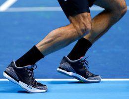 Wholesale New Color New Men Tennis Shoes U S Open Roger Federer tour Mens Top Quality Tennis Shoes Size