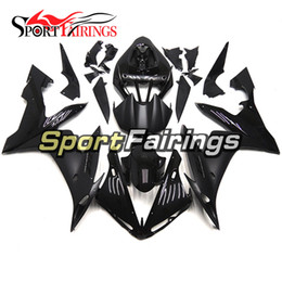 Black Matte Grey Decals Fairings For Yamaha YZF R1 YZF-R1 2004 2005 2006 04 05 06 ABS Motorcycle Kit Bodywork Motorbike Cowlings