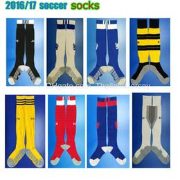 Wholesale 2016 men Club soccer socks Chelsea football socks PSG socks Bayern socks sports calcetines