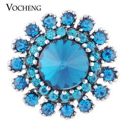 Wholesale VOCHENG NOOSA mm Colors Ginger Snap Aria Rhinestone Jewelry Vn