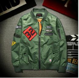 Wholesale The US air force bomber jacket MA1 couple popular logo uniform and tooling locomotive coat spring autumn jacket