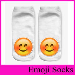 2018 Printing Emoji Socks Cartoon Ladies Slippers Women's Ankle Socks For Girls Teenagers Autumn Winter Cute Socks