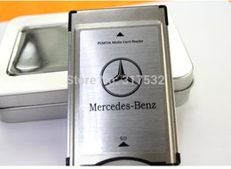 Wholesale SD to PCMCIA card reader adapter for Mercedes Benz MP3 memory support GB