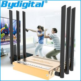 Wholesale 300Mbps high speed M Memory Dbi high gain G high power N B G metal WI FI repeater g g wifi Wireless Router